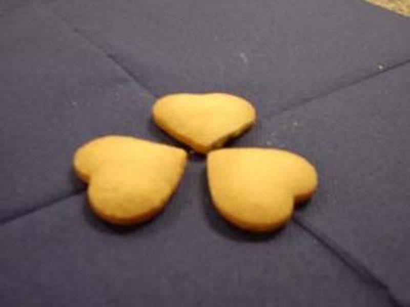 cuori-pandoper Biscotti : Cuori